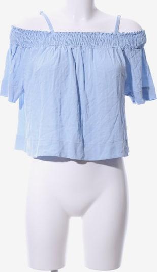 anna & ella Kurzarm-Bluse in XS in himmelblau, Produktansicht