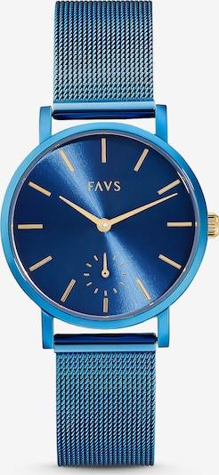 FAVS Uhr in blau, Produktansicht