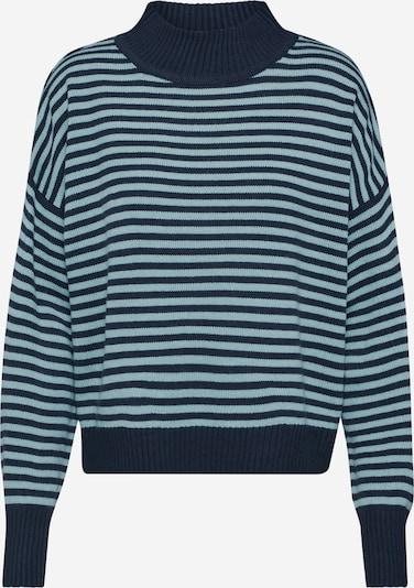 JACQUELINE de YONG Pullover 'MARTHA' in blau / mint, Produktansicht
