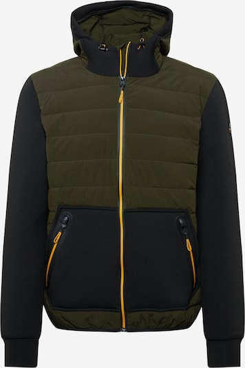 KILLTEC Āra jaka, krāsa - olīvzaļš / melns, Preces skats