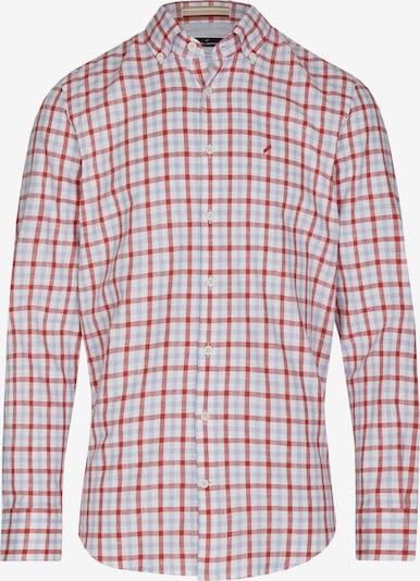 DANIEL HECHTER Hemd in hellblau / rot / weiß, Produktansicht