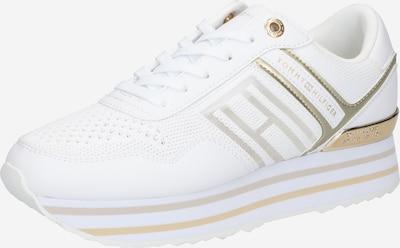 TOMMY HILFIGER Nízke tenisky - zlatá / strieborná / biela, Produkt
