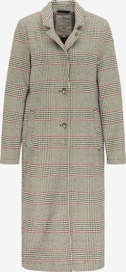 DreiMaster Vintage Mantel in grau / rot / schwarz, Produktansicht