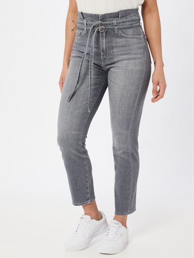 7 for all mankind Jeans 'LEFT HAND' in Dusty blue, View model