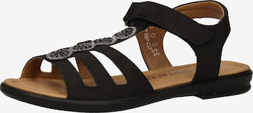 RICOSTA Sandale in Schwarz