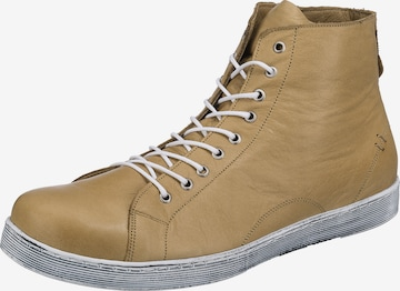 ANDREA CONTI High-Top Sneakers in Beige