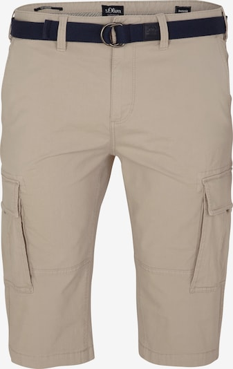 s.Oliver Men Big Sizes Bermuda in beige, Produktansicht