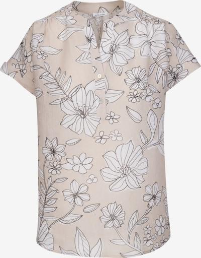 SEIDENSTICKER Schlupfbluse 'Schwarze Rose' in beige / weiß, Produktansicht