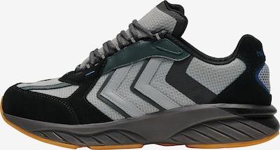 Hummel Sportschuh in grau / dunkelgrün / schwarz, Produktansicht