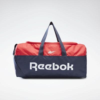 REEBOK Sporttas in de kleur Donkerblauw / Rood / Wit, Productweergave