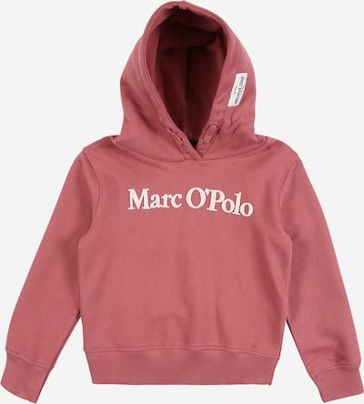 Marc O'Polo Junior Sweatshirt in altrosa / weiß, Produktansicht