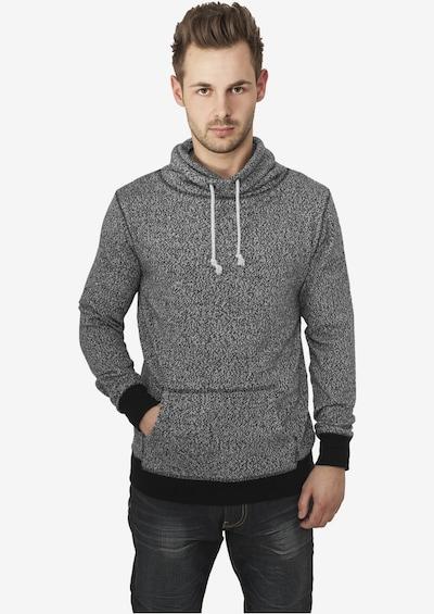 Urban Classics Sweatshirt in de kleur Grijs gemêleerd: Vooraanzicht