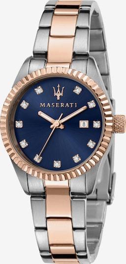 Maserati Uhr 'Competizione' in navy / rosegold / silber, Produktansicht
