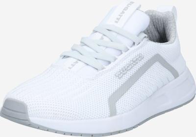 bugatti Baskets basses 'Xenon' en gris / blanc, Vue avec produit