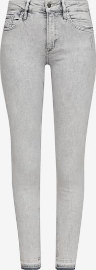 Q/S designed by Jeans in de kleur Lichtgrijs: Vooraanzicht