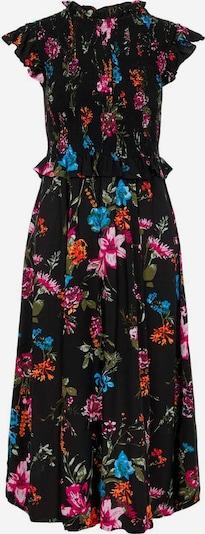 PIECES Kleid in mischfarben / schwarz, Produktansicht