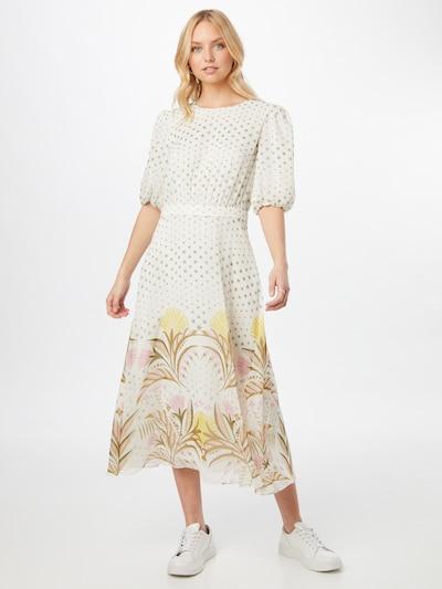 Ted Baker Kleid 'Joulia' in mischfarben / weiß, Modelansicht
