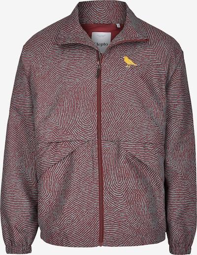Cleptomanicx Between-Season Jacket 'Brigg' in Dark red, Item view