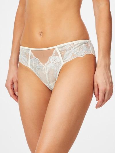 Calvin Klein Underwear Slip in hellblau / hellgelb / weiß: Frontalansicht