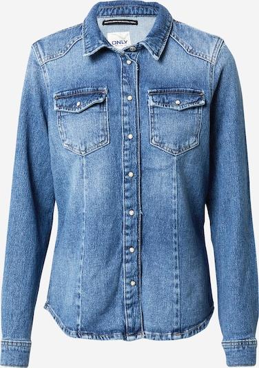 ONLY Blouse in de kleur Blauw, Productweergave