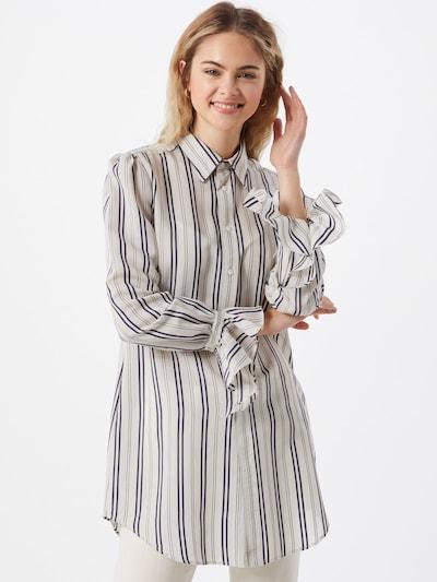 POLO RALPH LAUREN Bluse in navy / weiß, Modelansicht