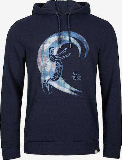 O'NEILL Sportisks džemperis 'Original Surfer', krāsa - tumši zils / debeszils / gaiši pelēks / rožkrāsas, Preces skats