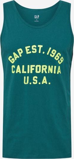 GAP Tričko - svetložltá / zelená, Produkt
