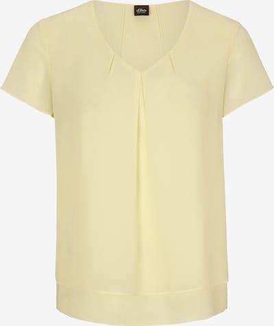 s.Oliver BLACK LABEL Blusenshirt in gelb, Produktansicht