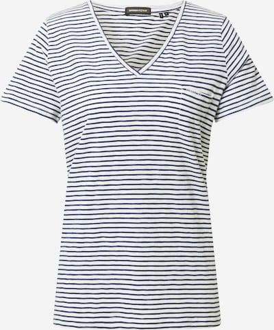 Superdry T-Shirt in marine / weiß, Produktansicht