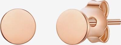 Glanzstücke München Silber-Ohrstecker in rosegold, Produktansicht