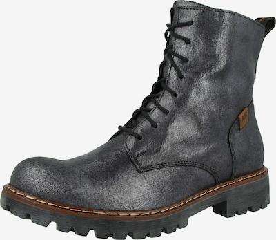 JOSEF SEIBEL Schnürstiefelette in braun / schwarz, Produktansicht