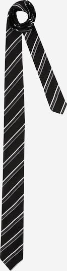HUGO Krawatte in grau / schwarz / weiß, Produktansicht