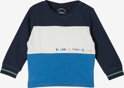 s.Oliver Shirt in türkis / dunkelblau / weiß, Produktansicht
