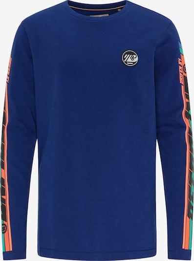 Petrol Industries T-Shirt in royalblau / mischfarben, Produktansicht