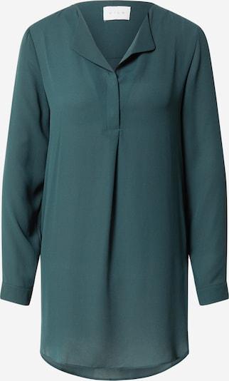 VILA Bluse in dunkelgrün, Produktansicht