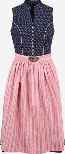 ALMSACH Dirndl in dark blue / dark pink / white, Item view