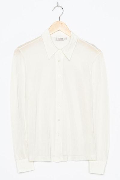 Marella Bluse in M in beige, Produktansicht