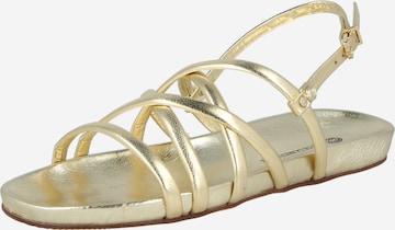 Fred de la BretoniÈre Sandale in Gold