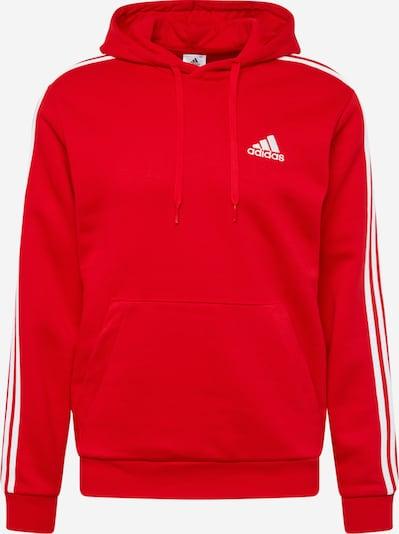 ADIDAS PERFORMANCE Sweat de sport en rouge / blanc, Vue avec produit