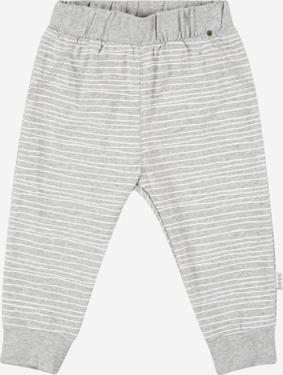 Pantaloni BESS pe gri / alb, Vizualizare produs