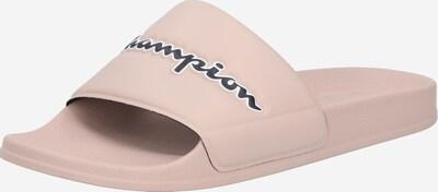Champion Authentic Athletic Apparel Claquettes / Tongs 'Slide' en poudre / noir / blanc, Vue avec produit