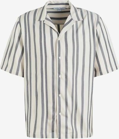 khujo Hemd ' Patrik ' in rauchblau / weiß, Produktansicht