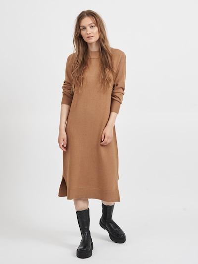 Rochie tricotat 'Ril' VILA pe maro deschis, Vizualizare model