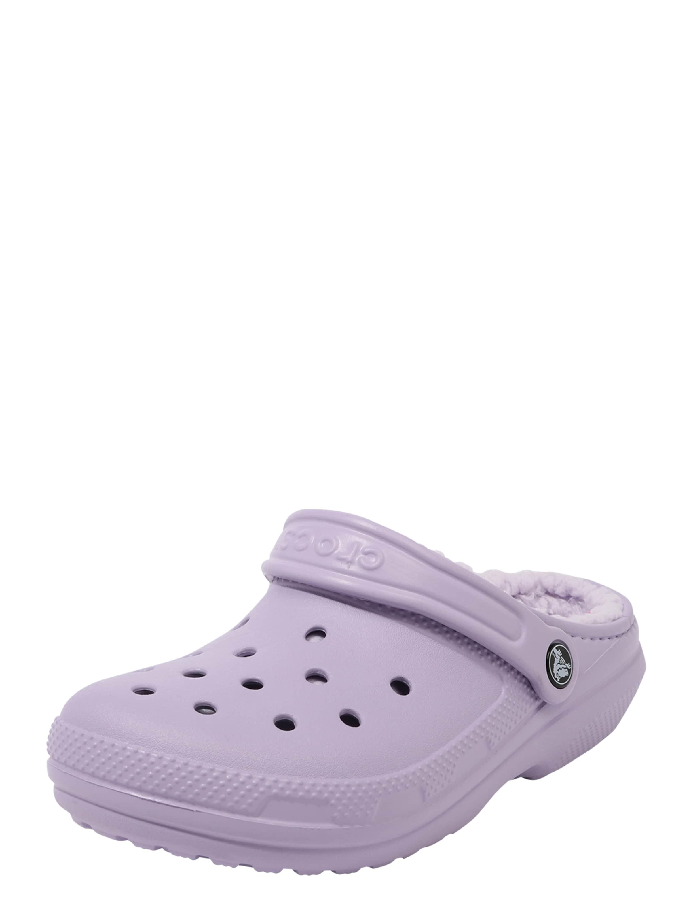 Crocs Träskor 'Classic Lined' i lavendel