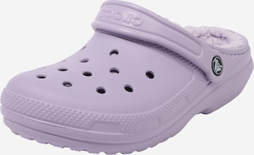 Sabots 'Classic Lined' Crocs en violet