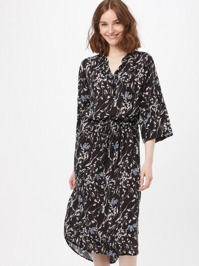 SOAKED IN LUXURY Kleid 'Zaya' in hellblau / schwarz / weiß, Modelansicht