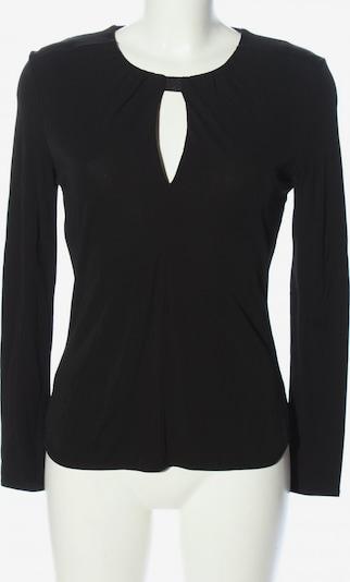 Hauber Langarm-Bluse in XS in schwarz, Produktansicht