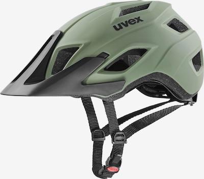 UVEX Fahrradhelm 'Access' in khaki / schwarz, Produktansicht