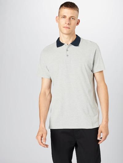 ABOUT YOU Majica 'Willi Shirt' u tamno plava / siva melange: Prednji pogled