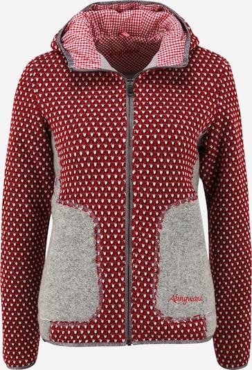 Almgwand Prijelazna jakna 'GEISSENBERG' u srebrno siva / crvena, Pregled proizvoda